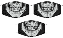 Load image into Gallery viewer, Skull Head Face Mask Cool For Men Women Death Mouth Nose Cover Washable Reusable-Mask