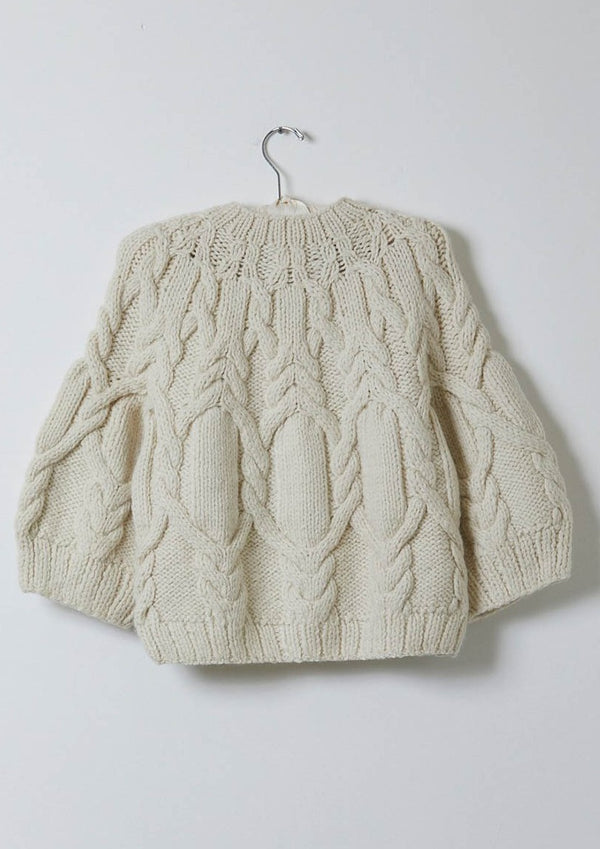 Atelier Delphine Orane Sweater in Cream