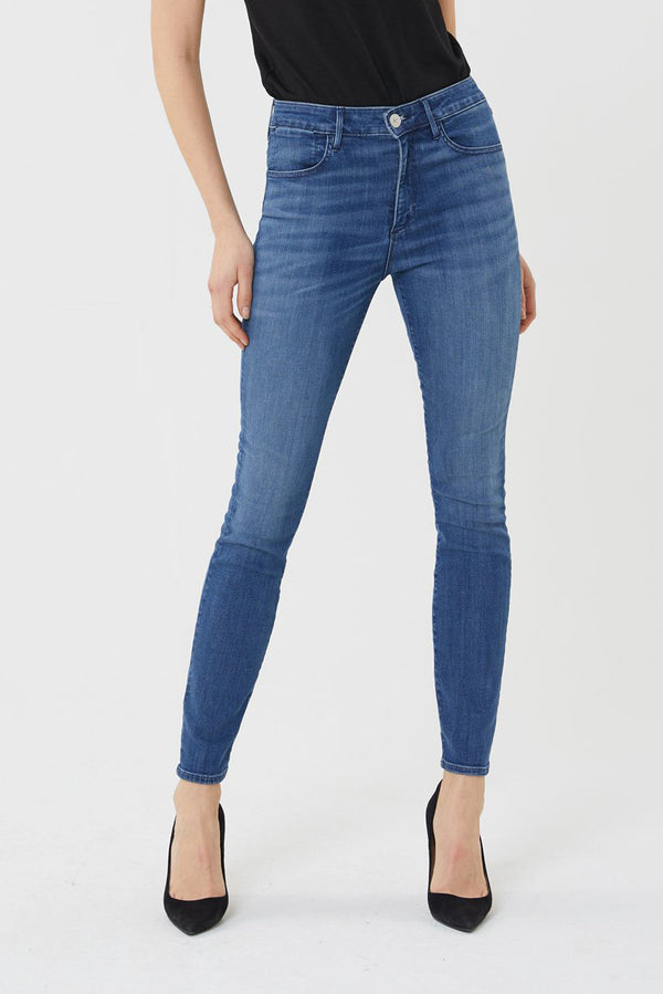 W3 High Rise Channel Seam Skinny in Annora