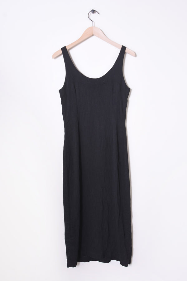 Easy Tank Dress in Black