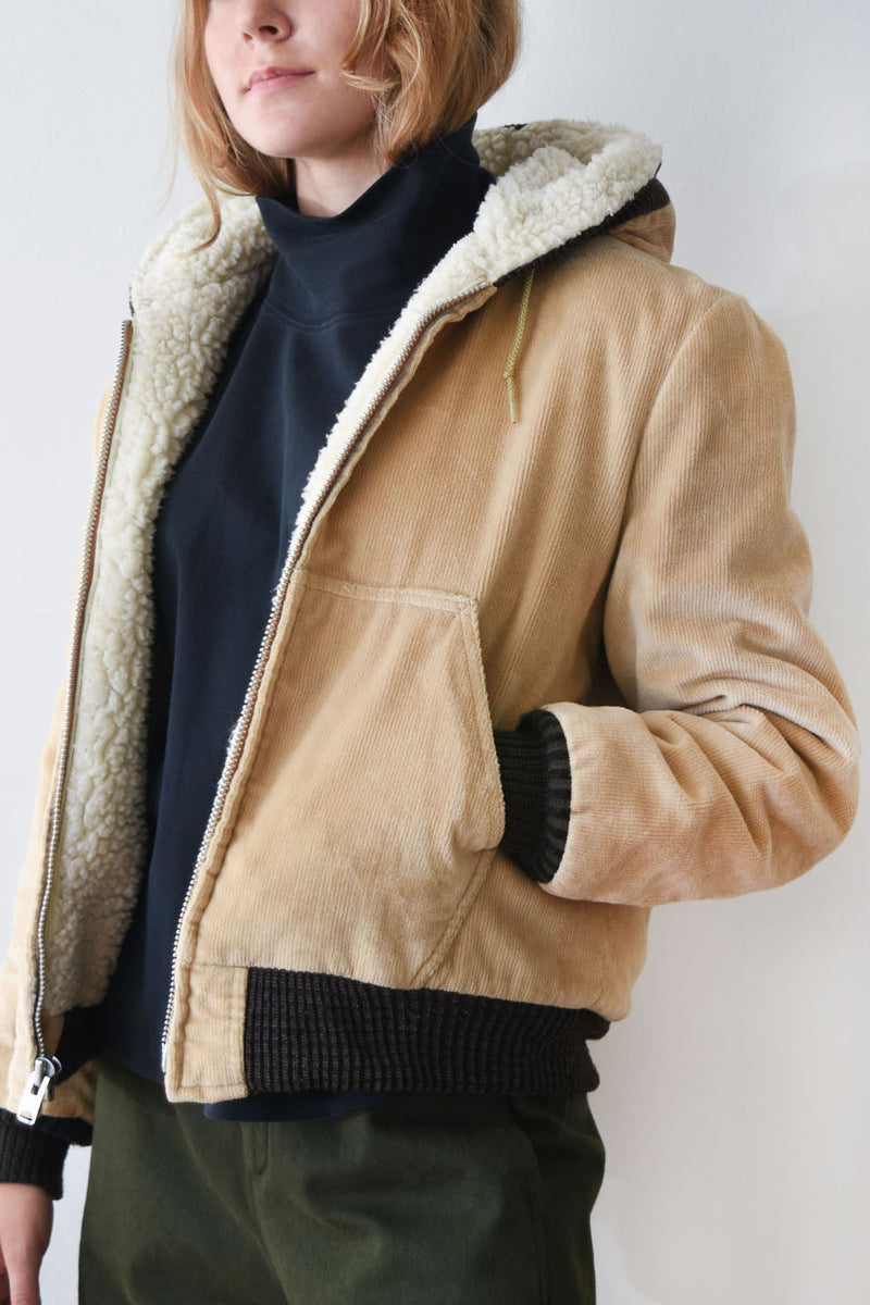 Vintage William Barry Shearling Jacket