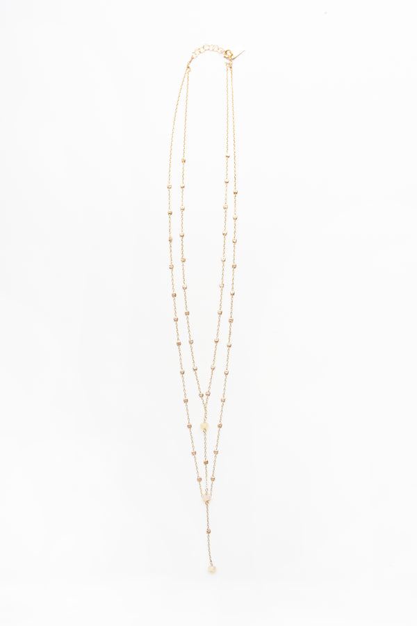 Iwona Ludyga Double Layer Storm Necklace