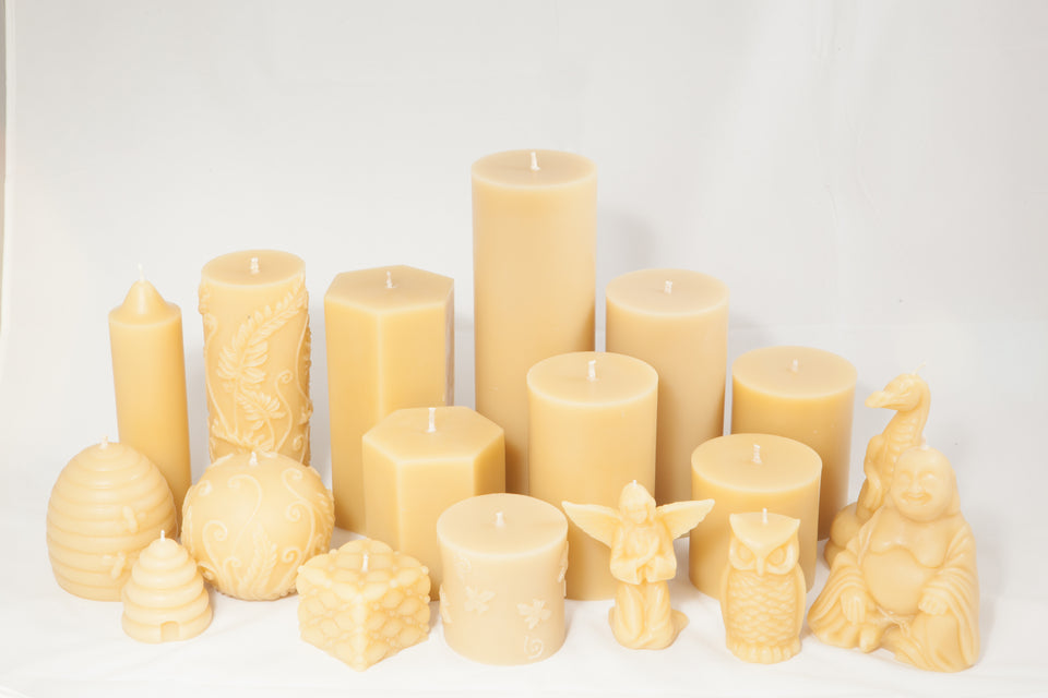 Poured Candles