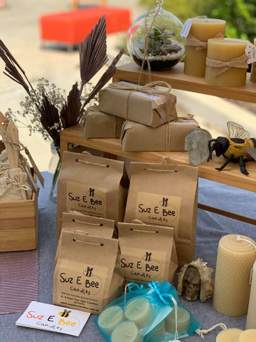 Suz E Bee Bees Wax Candles