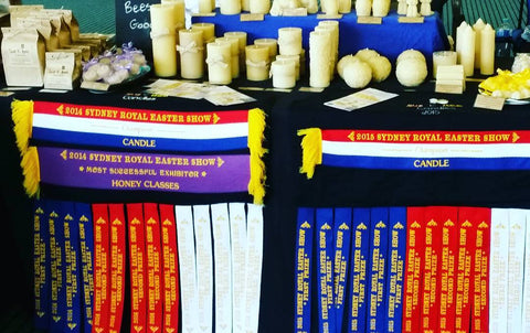 buy local taper beeswax candles NSW market