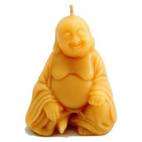 Buddha - Handpoured, Pure Australian Beeswax Candle Poured Candles - Suz E Bee Candles