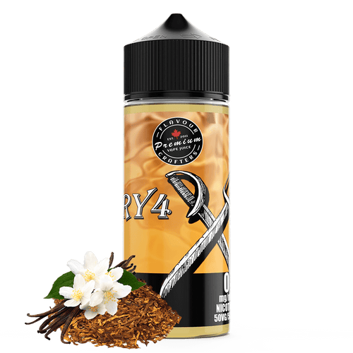 RY4 TOBACCO VAPE JUICE FLAVOUR CRAFTERS INC. 120mL 0mg