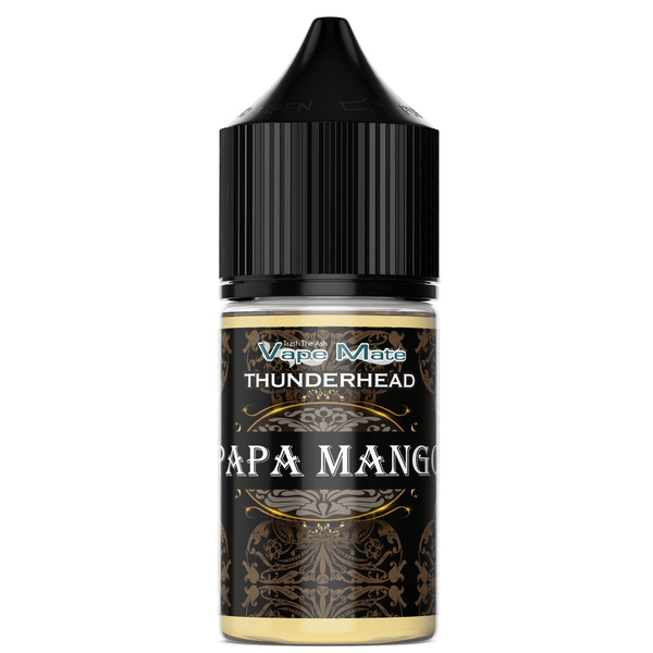 THUNDERHEAD - PAPA MANGO (50/50) CO-PACKED VAPEMATE - THUNDERHEAD 30mL 0mg