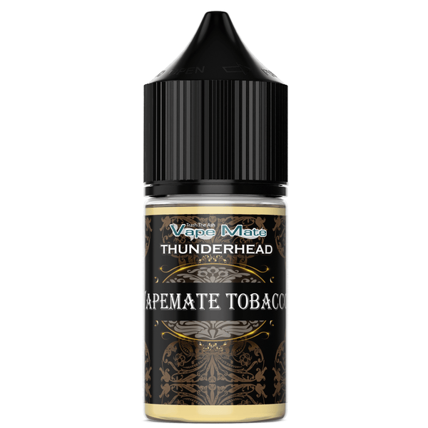 THUNDERHEAD - VAPEMATE TOBACCO (50/50) CO-PACKED VAPEMATE - THUNDERHEAD 30mL 0mg