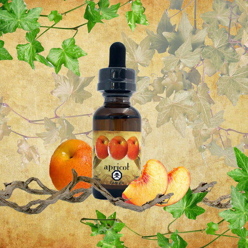 NATURAL APRICOT VAPE JUICE (E JUICE / E LIQUID)