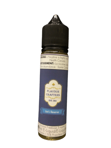 Jon's Reserve TOBACCO VAPE JUICE Flavour Crafters Inc.
