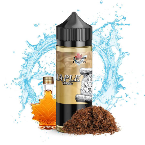 MAPLE CURED TOBACCO VAPE JUICE (E JUICE / E LIQUID)