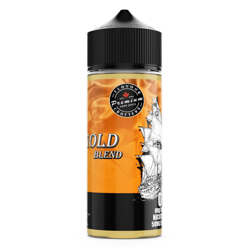 (BC) GOLD BLEND (EXPORT) TOBACCO VAPE JUICE FLAVOUR CRAFTERS INC.