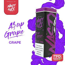 Asap Grape- Nasty Juice - Railway City Vapes
