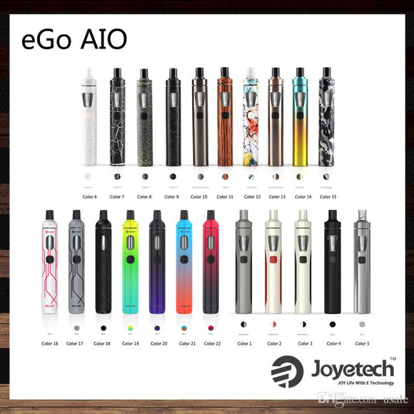 Joyetech eGo AIO (All In One) Starter Kit - Railway City Vapes