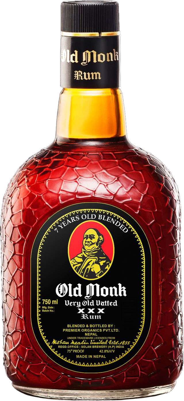 Old Monk Rum 7 Year 750ml