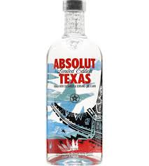 Absolut Texas Ltd. Ed. 750 ml