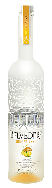 Belvedere Ginger Zest Vodka 750ml