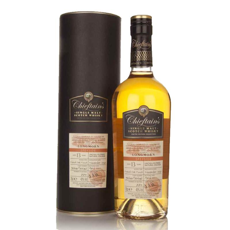 Chieftain's 13 Year Old Speyside - Single Malt Scotch Whisky