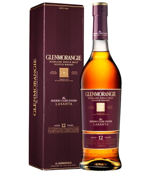 Glenmorangie 12 Year Old Sherry Cask Finish - Lasanta Single Malt Whisky
