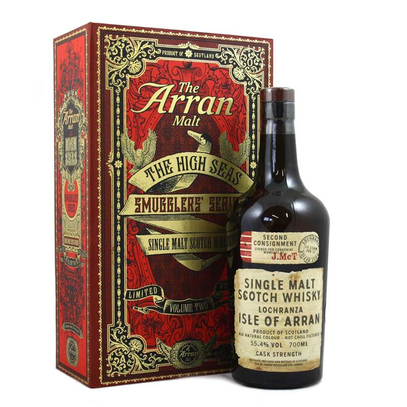 The Arran Malt The High Seas 'Smugglers' Series - Single Malt Scotch Whisky