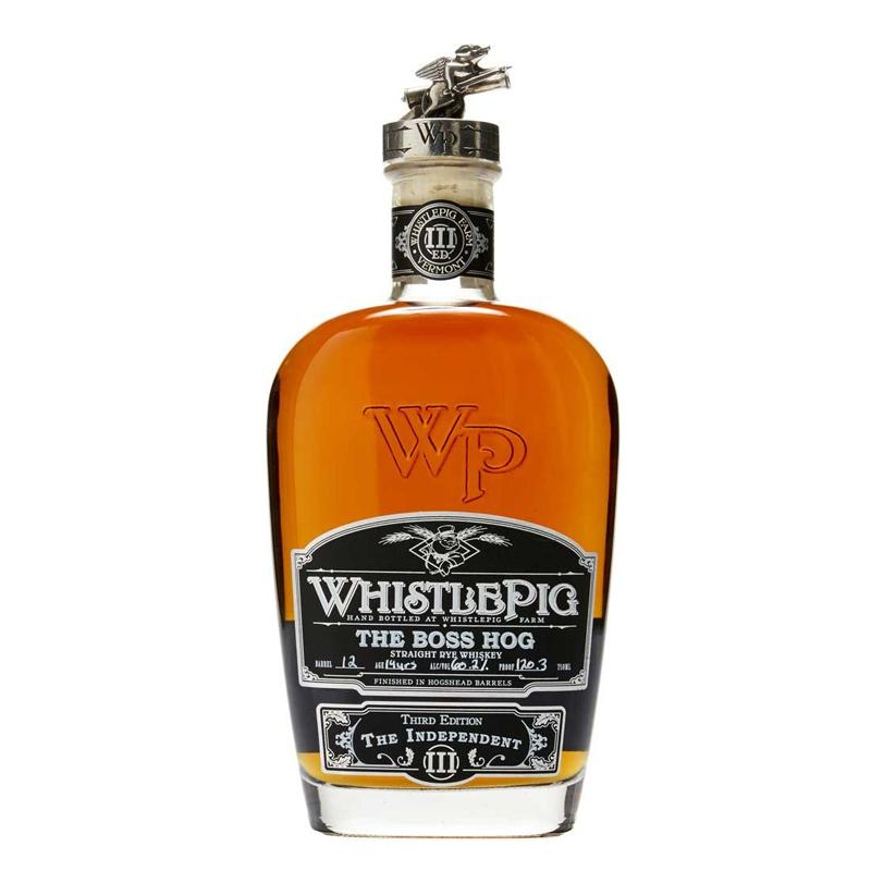 "Whistlepig The Boss Hog ""Third Edition The Independent"" - Straight Rye Whiskey"