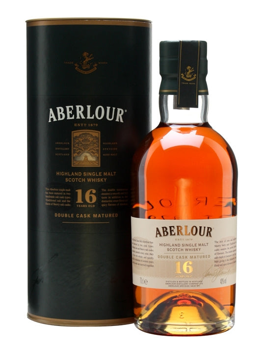 Aberlour 16 Year Double Cask Single Malt Whiskey