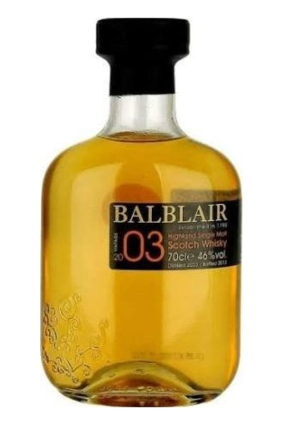 Balblair Single Malt Scotch 2003
