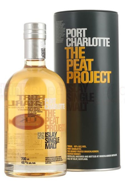 Bruichladdich Port Charlotte The Peat Project Heavily Peated Islay