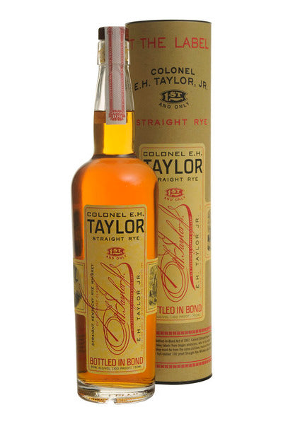 E.H. Taylor, Jr. Straight Rye Whiskey 750ml