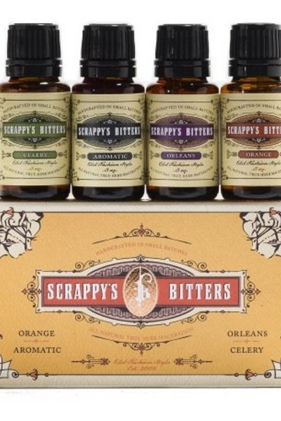 Scrappy's Bitters Variety Pack 4x 0.5oz Bottles