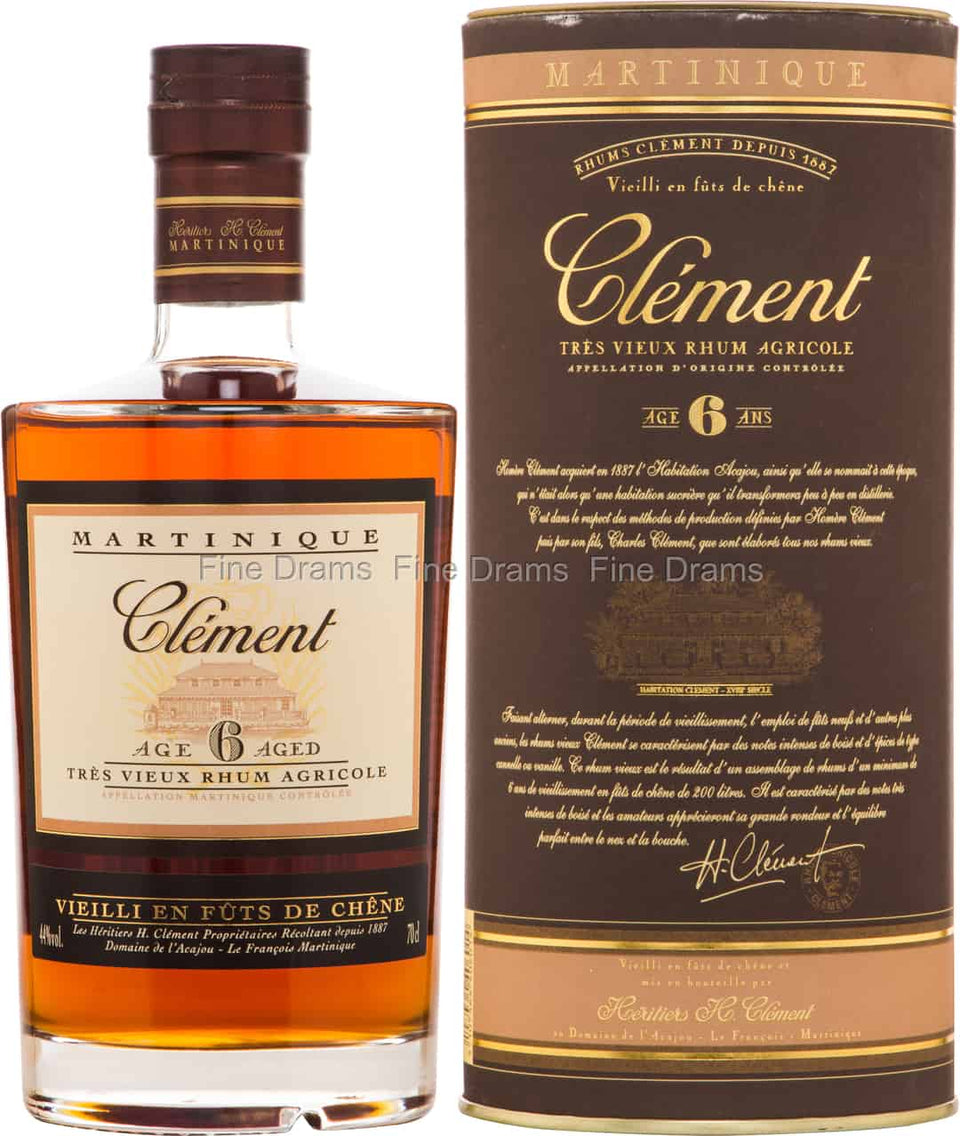 Clement 10 Year Rum 750ml