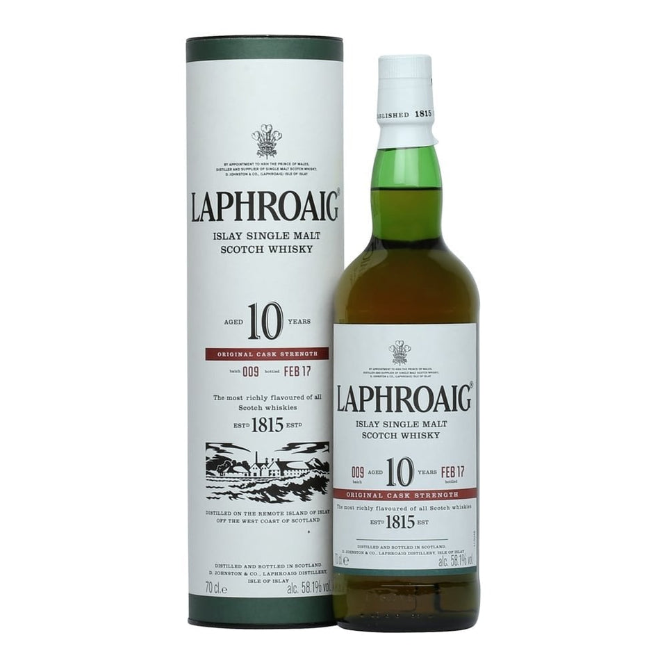 Laphroaig 10 Year Cask Strength