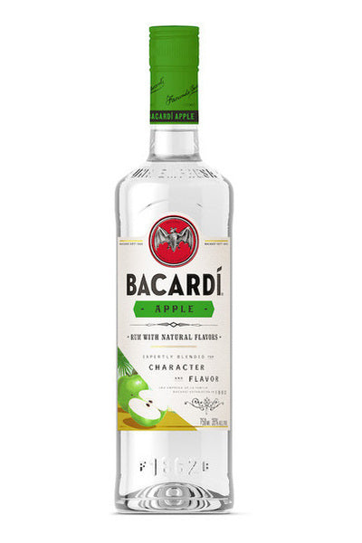 Bacardi Apple Flavored White Rum (Big Apple)