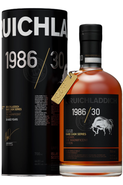 Bruichladdich 1986 Rare Cask 30 Year 750ml Bottle 1986