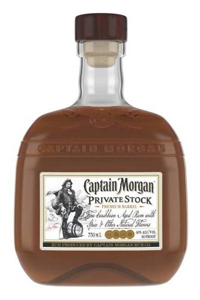 Captain Morgan Private Stock Rum 750ml