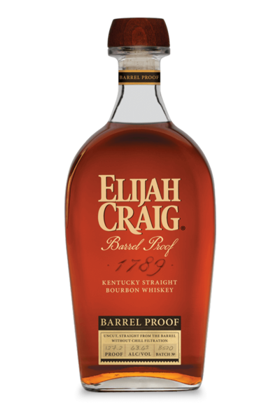 Elijah Craig Barrel Proof Bourbon 750ml Bottle
