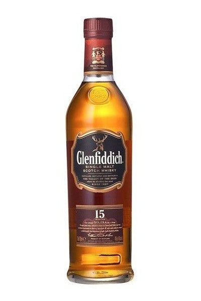 Glenfiddich 15 Year Old Solera Reserve Single Malt Scotch Whisky