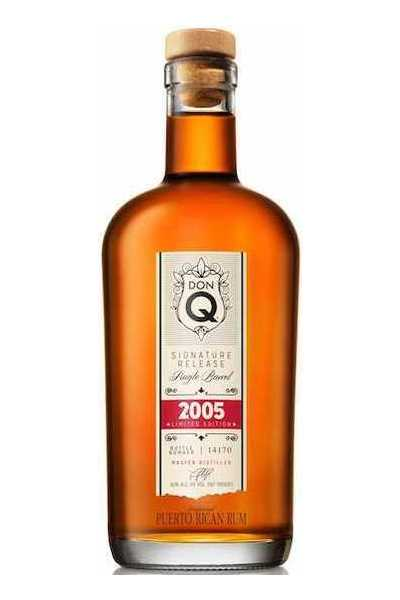 Don Q Signature Release Single Barrel Rum