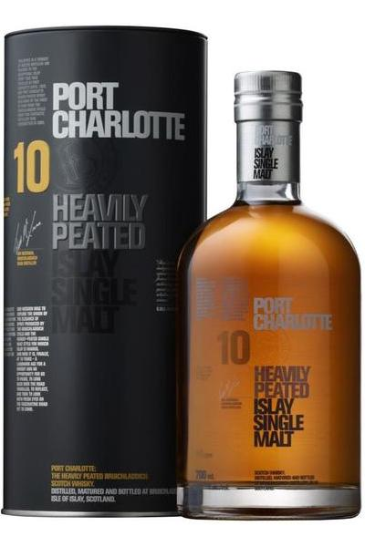 Bruichladdich Port Charlotte Heavily Peated 10 Year