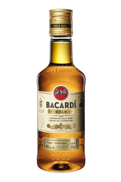 Bacardi Gold Rum 375ml