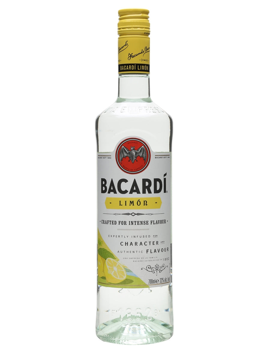 Bacardi Lime Flavored White Rum