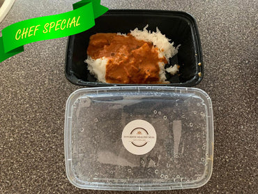 Butter Chicken With Coconut Jasmine Rice