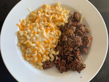 Ground Beef with Mac