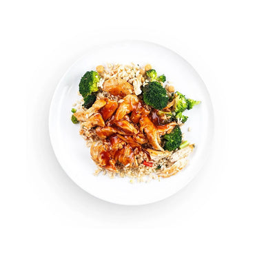 Chicken Fajita Bowl with Rice and Vegetables