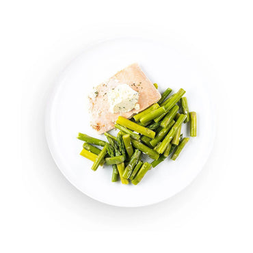 Keto Garlic Butter Salmon with Vegetables