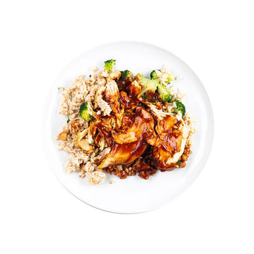 Smoky BBQ Chicken with Rice and Broccoli