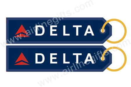 Delta Airlines logo - Key Tag