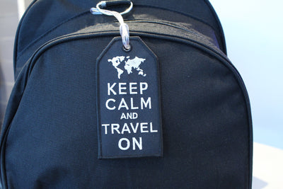 Keep Calm Bag Tag