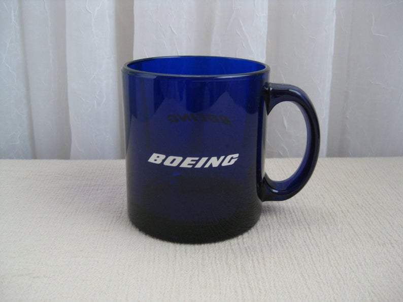 Blue Boeing Coffee Mug